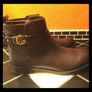 Tommy Hilfiger Brown women's ankle boots